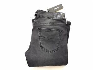 $198 Diesel Women's Louvboot Slim Bootcut Jeans Low Waist RA076 Size W30-L30