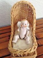 "Vintage 1950s C7 Germany 2.5"" Bisque Boy Doll"