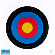 10 x 80CM ARCHERY PAPER TARGET FACES - FITA APPROVED - REINFORCED WAX PAPER