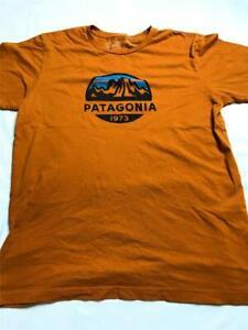Patagonia Women's Organic Cotton Slim Fit T-Shirt, Dark Yellow, Size Medium