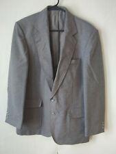 Haggar Men's size Classic Fit 40R Gray Wool Blazer Sport Coat Jacket