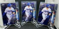 (3) 2020 Topps Chrome Gavin Lux Rookie Los Angeles Dodgers #148 RC