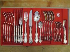 WMF Baroque Patent 90 Silber 6 Personen 30 Teile Note 1- Menübesteck Barock NEU