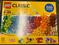 New LEGO Classic 1500 Pieces Building Blocks 10717 Factory Sealed