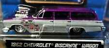 MAISTO 62 1962 CHEVY CHEVROLET BISCAYNE WAGON PRO STREET ALL STARS RED CAR PURP