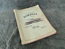 1974 Romance Collecting Case Cutlery Knives Catalog Price Guide 2nd Ed Razor Axe