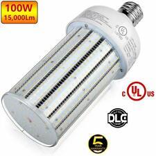 400W HPS Parking lot Street Light Replaces 100W LED Corn Light E39 6000K 120Volt
