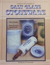 SALT GLAZE STONEWARE ENCYCLOPEDIA VALUED GUIDE BOOK Crock Bowl Mug Pitcher +++