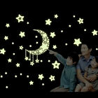 Glow Wall Stickers Luminescent Moon Stars Home Bedroom Decor  New