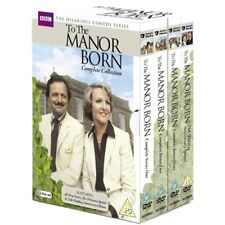 To The Manor Born Complete TV Series 1 2 3 + Specials Region 2 New DVD