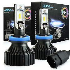JDM ASTAR 2X H11 White 60W 8000LM LED Headlight Kit Hi/Low Power Bulbs 6500K H8