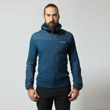 Montane Mens Lite-Speed Outdoor Jacket Top - Blue Sports Outdoors Full Zip