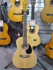 Redding RED34E 3/4 Size Acoustic Electric Guitar - Great For Kids or Travel