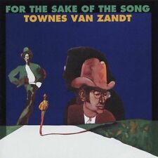TOWNES VAN ZANDT FOR THE SAKE OF THE SONG FIRST ALBUM CD 1993 TOMATO COUNTRY