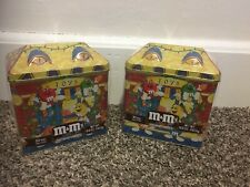 M&M Tin~1996~Limited Edition Christmas Village Series Canister New In Wrap