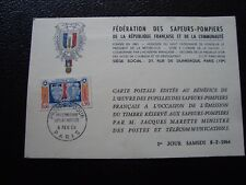 FRANCE - carte 1er jour 8/2/1964 (protection civile) (B12) french