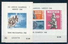 446375) Mexiko Block 3 + 4 **, olympische Spiele, Sport