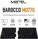 Mistel MD770 TKL Split Mechanical Ergonomic Keyboard with Cherry MX Switch
