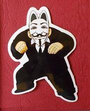 "Sticker Adhesivo ""anonymous 1"" brillo-Optik StickerBomb skateboard portátil"