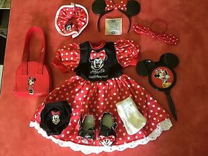 """Disney Minnie Mouse 18"""" Doll Outfit & Access. for American Girl Adult Owned Exce"""