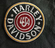 Harley Davidson Patch Aufnäher USA Badge Kutte Rocker MC Biker Motorcycles