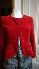 Veste BONPOINT velours rouge taille 14 ans