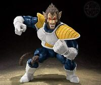 BANDAI S.H.Figuarts DRAGON BALL Z GREAT APE VEGETA Action Figure w/Tracking NEW