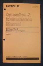 CAT CATERPILLAR 3406 ATAAC TRUCK ENGINE OPERATION & MAINTENANCE MANUAL 4CK1-UP