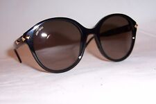 NEW JIMMY CHOO SUNGLASSES MORE/S 807-JS BLACK/BROWN AUTHENTIC