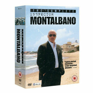 Inspector Montalbano: The Complete Collection Dvd Brand New & Factory Sealed