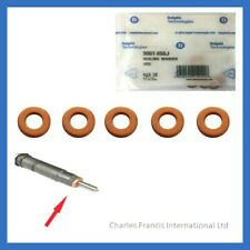 Injector Seals Mitsubishi Space Star 1.9 4 x Diesel Fuel Injector Washers