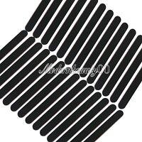 50 X Black Round Nail Art Sanding Files Buffing Block Grit Tool Set #100 #180