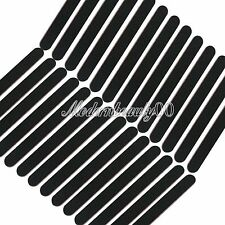 50 X Black Round Nail Art Sanding Files Buffing Block Grit Tool Set #100 #180