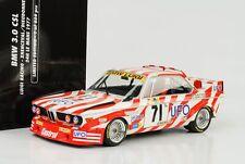 1977 BMW 3.0 CSL 24H Le Mans Luigi Racing UFO #71 1:18 Minichamps