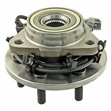 FRONT LEFT HUB & WHEEL BEARING ASSEMBLY - DODGE DURANGO 98-03, DAKOTA 4WD 97-04