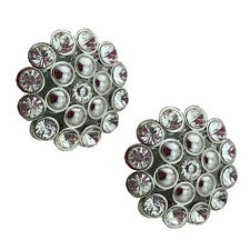 """Jewelled Shoe Clips, Shoe Jewels, Bridal Prom Shoe Accessories (1 Pair) """"Serena"""""""