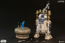 SIDESHOW EXCLUSIVE STAR WARS R2-D2 1/6 Scale Figure DELUXE R2D2 SEALED! UNOPENED