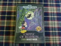Castle of Illusion - Authentic - Sega Genesis - Case / Box Only!