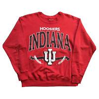 VTG 90s Indiana University Sweatshirt Mens Medium College Hoosiers Streetwear OG
