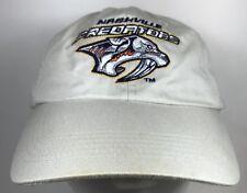 Predators Nashville Hockey Team Cap Khaki adjustable Strapback Hat NHL