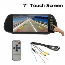 7'' Écran Moniteur TFT LCD Caméra de Recul Arriere Nocturne Vision Étanche Auto