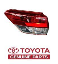 Genuine Toyota Highlander 2017 Left Rear Outer Tail Light Lamp OEM