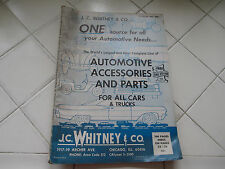 65 J.C. Whitney Automotive Parts & Accessories Catalog No. 220 with 240 Pages