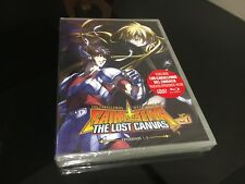 LOS CABALLEROS DEL ZODIACO DVD SAINT SEIYA THE LOST CANVAS EPISODIOS 1-5