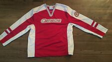 2010 Red White Jersey Vancouver Olympics Hudson Bay Co. HBC Canada Men's L - New