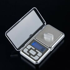 500g/0.1g Mini Digital LCD Electronic Jewelry Pocket Portable Gram Weight Scale@