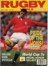Rugby World Magazine Mayo 1993-Melrose, Hornets-Wsm, Northampton Colts