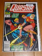 QUASAR - Vol 1 - No 43 - Date 02/1993 - MARVIL Comics
