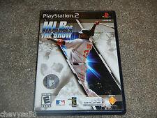 MLB MAJOR LEAGUE BASEBALL THE SHOW 2006 06 SONY PLAYSTATION 2 VIDEO GAME DISC