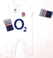 Official England R.f.u Rugby Sleepsuit Babygrow 6 - 9 Months St Xmas Gift